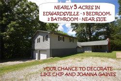 Photo of 4331 Bohm School Road, Edwardsville, IL 62025-7423 (MLS # 19055566)