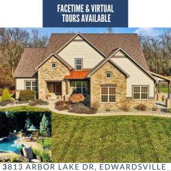 Photo of 3813 Arbor Lake Drive, Edwardsville, IL 62025-6202 (MLS # 19086289)
