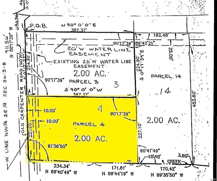 Photo of 0 Lot 4 Fields Creek, Edwardsville, IL 62025 (MLS # 18028286)