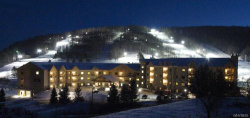 Photo of 6447 Holiday Valley Road, Unit 213/215-4, Ellicottville, NY 14731 (MLS # B1164797)