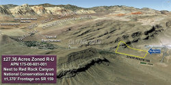 Photo of 27.36 Acres on Hwy 159 Road, Blue Diamond, NV 89161 (MLS # 2068531)