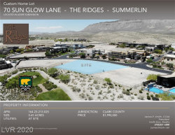 Photo of 70 Sun Glow, Las Vegas, NV 89135 (MLS # 2200469)