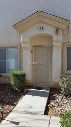 Photo of 6481 STONE DRY Avenue, Unit 103, Henderson, NV 89011 (MLS # 1959164)