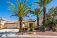 Photo of 8837 CORTILE Drive, Las Vegas, NV 89134 (MLS # 2003578)