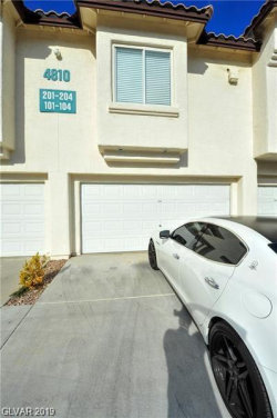 Photo of 4810 BLACK BEAR Road, Unit 204, Las Vegas, NV 89149 (MLS # 2142859)