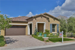 Photo of 205 CASTELLARI Drive, Las Vegas, NV 89138 (MLS # 2158623)