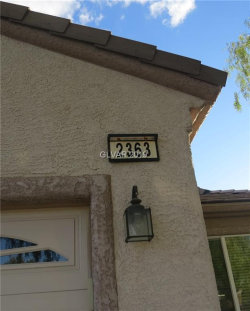 Photo of 2363 AMANA Drive, Henderson, NV 89044 (MLS # 2069576)