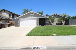 Photo of 29686 Avenida De Fiesta, Menifee, CA 92586 (MLS # CV19148818)