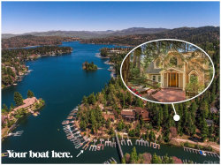 Photo of 145 Rocky Point Road, Lake Arrowhead, CA 92352 (MLS # EV19236562)