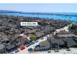 Photo of 214 Collins Avenue, Newport Beach, CA 92662 (MLS # NP19010895)