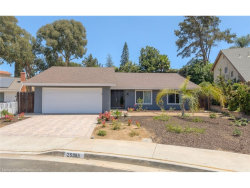 Photo of 25995 Corriente Lane, Mission Viejo, CA 92691 (MLS # OC17189111)