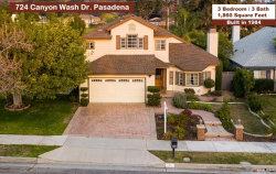 Photo of 724 Canyon Wash Drive, Pasadena, CA 91107 (MLS # PF20011643)