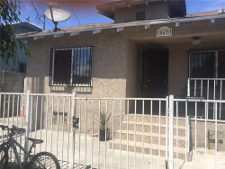 Photo of 863 E 40th Place, Los Angeles, CA 90011 (MLS # PW19226107)