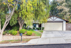 Photo of 22649 Calvello Drive, Saugus, CA 91350 (MLS # SR19257158)