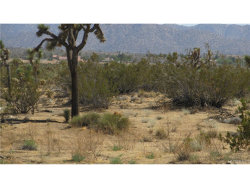 Photo of 0 Twentynine Palms, Joshua Tree, CA 92252 (MLS # JT18028752)