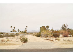 Photo of 1 Two Mile Road, 29 Palms, CA (MLS # JT18287122)