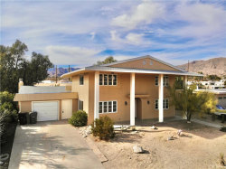 Photo of 9616 Bella Vista Drive, Morongo Valley, CA 92256 (MLS # JT20005750)