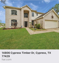 Photo of 14806 Cypress Timber Dr, Cypress, TX 77429 (MLS # 55426485)