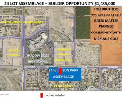 Photo of 18351 W Peoria Avenue, Lot 5E, Waddell, AZ 85355 (MLS # 5818546)