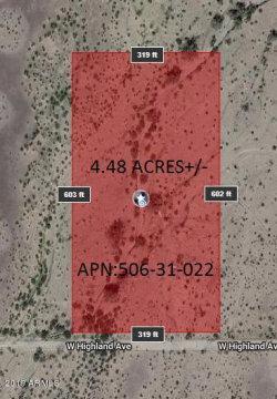 Photo of 46744 W Highland Avenue, Lot -, Tonopah, AZ 85354 (MLS # 5959052)