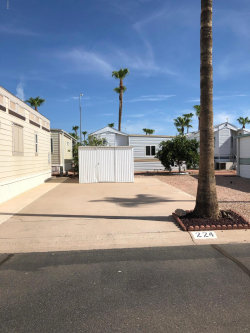 Photo of 3710 S Goldfield Road, Lot 224, Apache Junction, AZ 85119 (MLS # 5974699)
