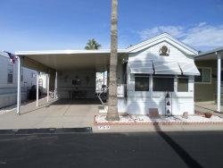 Photo of 3710 S Goldfield Road, Lot 753, Apache Junction, AZ 85119 (MLS # 6010604)