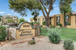Photo of 8500 E Indian School Road, Unit 106, Scottsdale, AZ 85251 (MLS # 5792428)