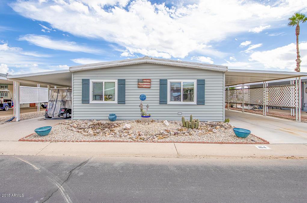Photo for 2100 N Trekell Road, Unit 164, Casa Grande, AZ 85122 (MLS # 5834010)