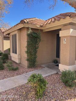 Photo of 7040 W Olive Avenue, Unit 47, Peoria, AZ 85345 (MLS # 6180323)