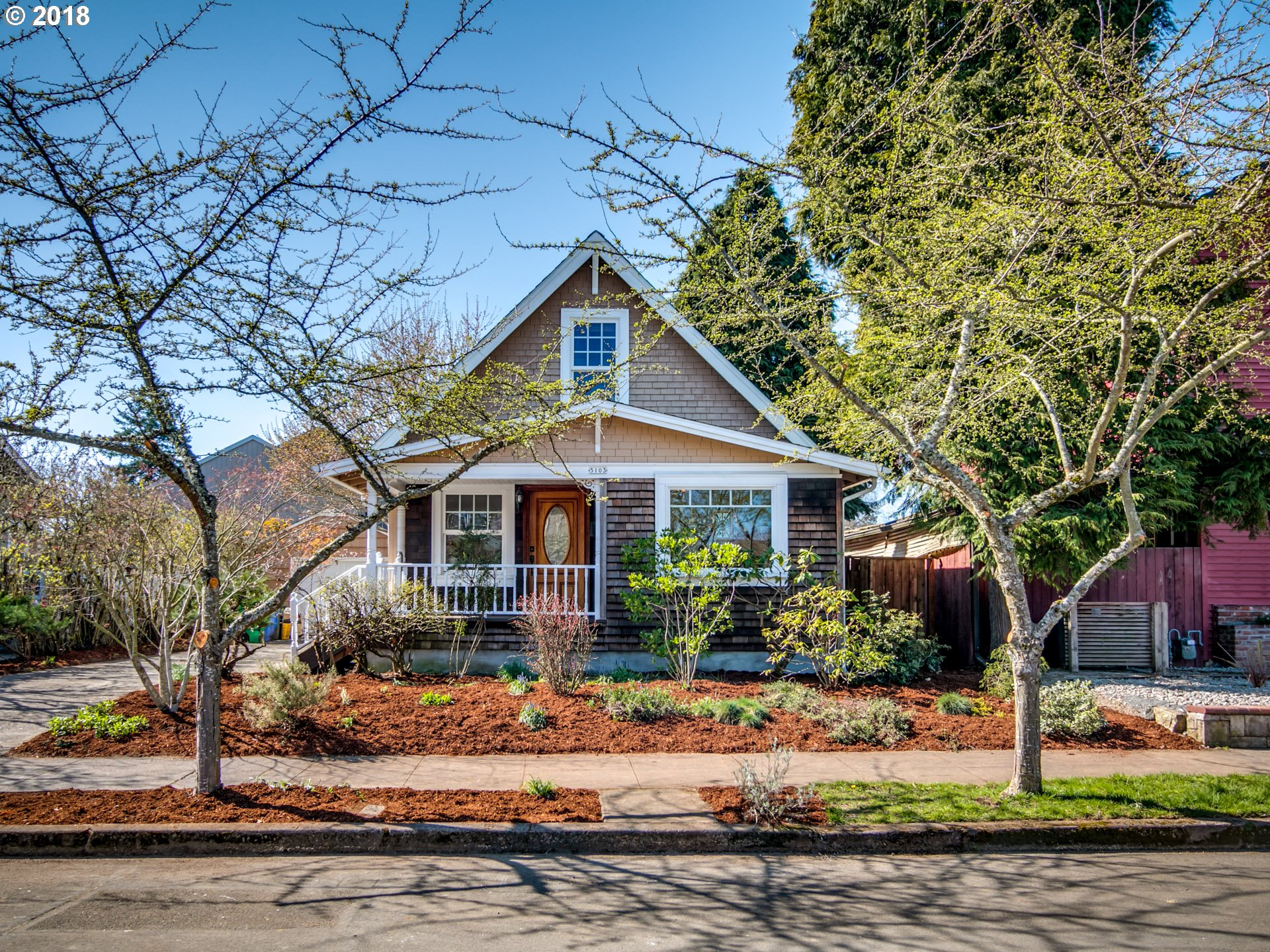 Photo of 5103 SE 49TH AVE, Portland, OR 97206 (MLS # 18296632)