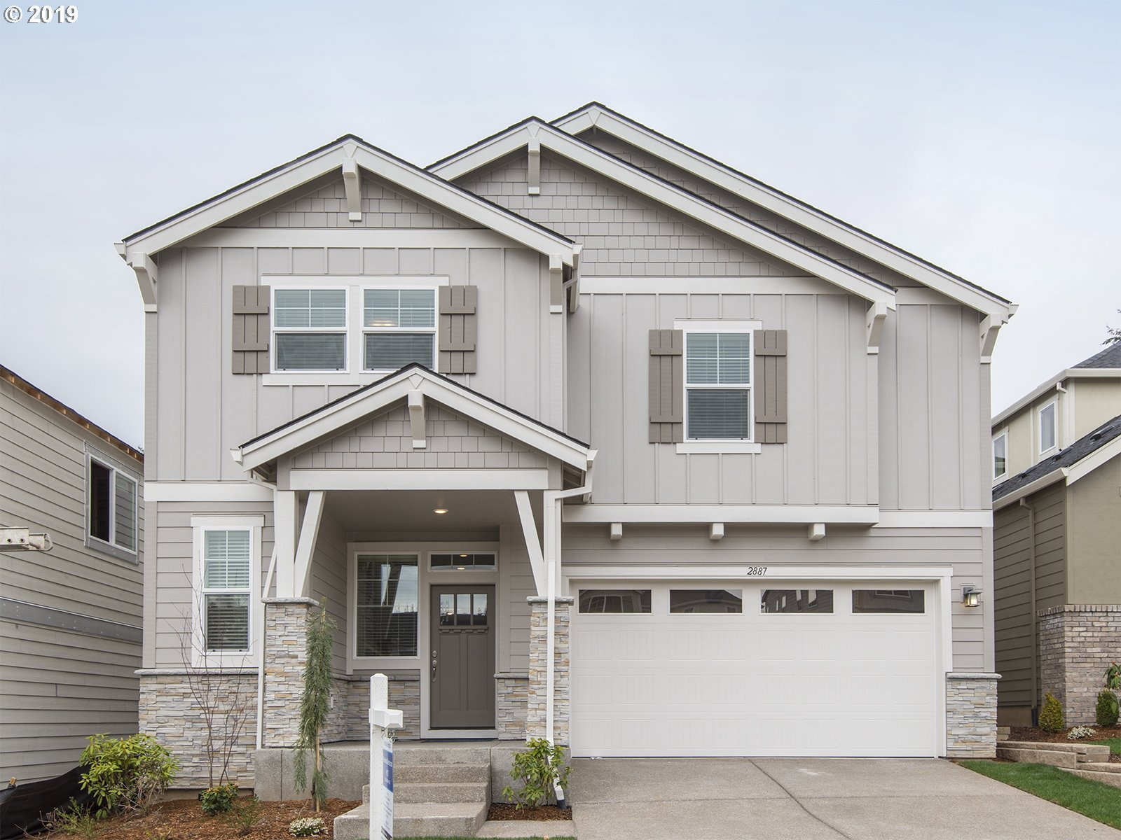 Photo for 2887 NW Grace TER , Unit LOT7, Portland, OR 97229 (MLS # 19203336)