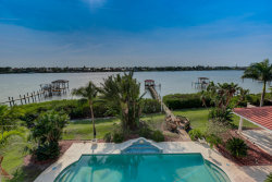 Photo of 143 Lansing Island Drive, Indian Harbour Beach, FL 32937 (MLS # 777646)