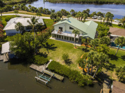 Photo of 390 Lakeview Drive, Melbourne Beach, FL 32951 (MLS # 784671)