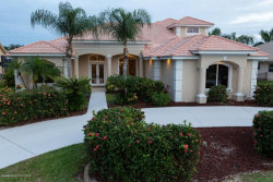 Photo of 347 Lanternback Island Drive, Satellite Beach, FL 32937 (MLS # 836354)