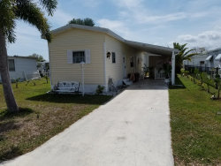 Photo of 860 Cashew Circle, Barefoot Bay, FL 32976 (MLS # 839616)