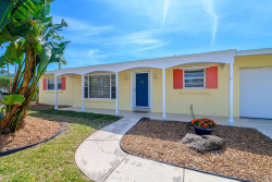 Photo of 215 Osage Drive, Indian Harbour Beach, FL 32937 (MLS # 869574)