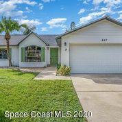 Photo of 857 Spirea Drive, Rockledge, FL 32955 (MLS # 888573)