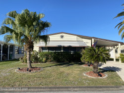 Photo of 712 Bougainvillea Circle, Barefoot Bay, FL 32976 (MLS # 893375)