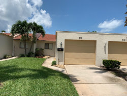 Photo of 418 Hawthorne Court, Unit 1, Indian Harbour Beach, FL 32937 (MLS # 853214)