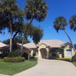 Photo of 355 Hammock Shore Drive, Melbourne Beach, FL 32951 (MLS # 853261)