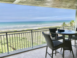Photo of 3409 S Atlantic Avenue, Unit 402, Cocoa Beach, FL 32931 (MLS # 880023)