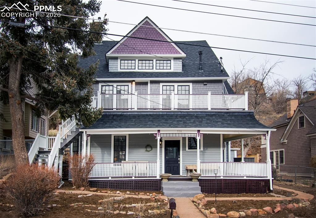 Photo for 114 CAPITOL HILL Avenue, Manitou Springs, CO 80829 (MLS # 4156638)