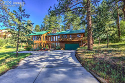 Photo of 1020 Sun Valley Drive, Woodland Park, CO 80863 (MLS # 5529631)