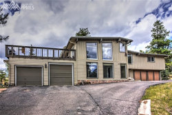 Photo of 130 Ute Trail, Woodland Park, CO 80863 (MLS # 5629584)
