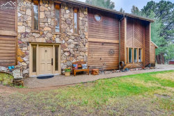 Photo of 320 Morning Sun Drive, Woodland Park, CO 80863 (MLS # 6198430)