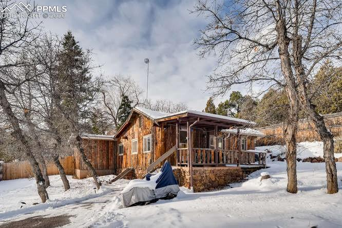 Photo for 200 Crystal Park Road, Manitou Springs, CO 80829 (MLS # 6358386)