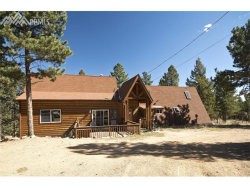 Photo of 1163 Coyote Trail, Woodland Park, CO 80863 (MLS # 7230597)