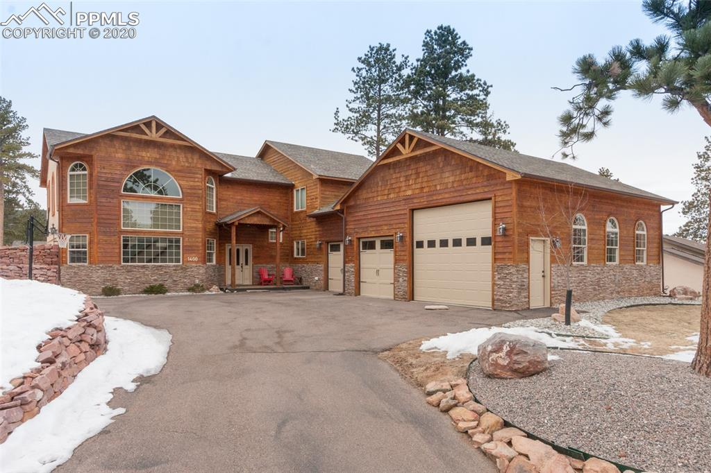 Photo for 1400 Masters Drive, Woodland Park, CO 80863 (MLS # 7563451)