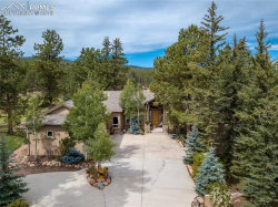 Photo of 1470 Masters Drive, Woodland Park, CO 80863 (MLS # 7602226)