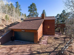 Photo of 9525 Canyon Drive, Woodland Park, CO 80863 (MLS # 7771421)
